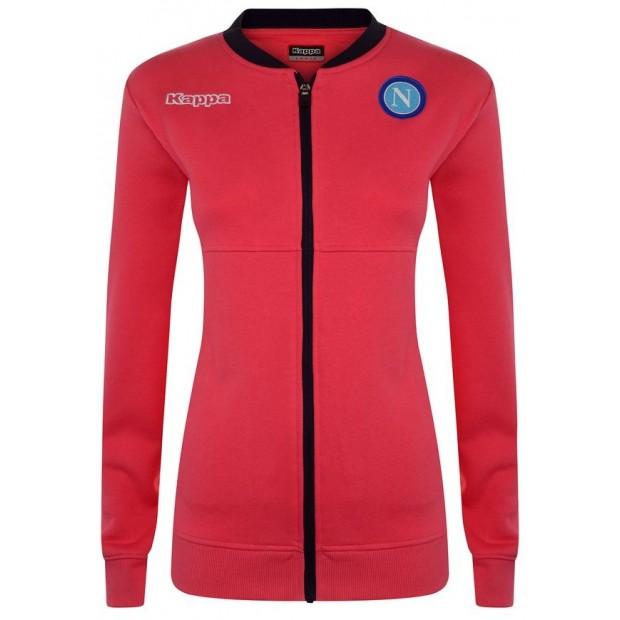 SSC Napoli Strawberry Red Lady Sweatshirt 2017/2018