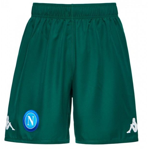 SSC Napoli Green Shorts 2017/2018