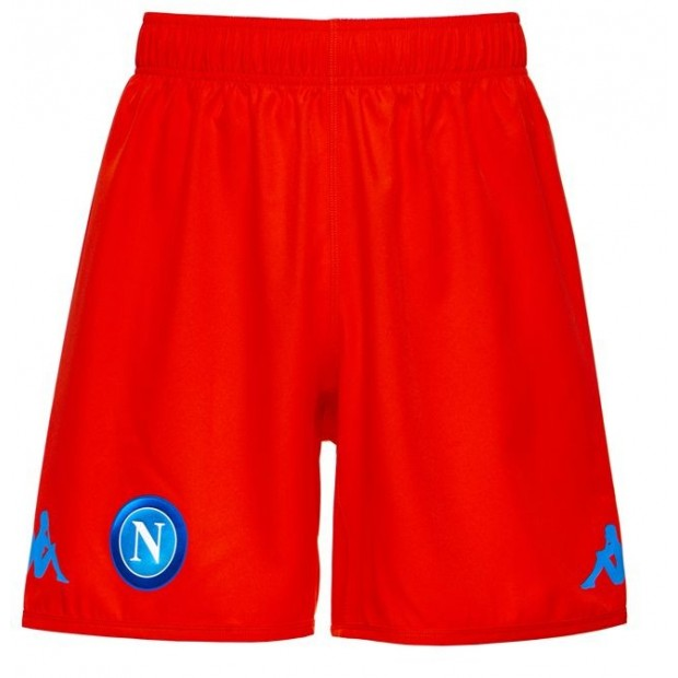SSC Napoli Orange Shorts 2017/2018