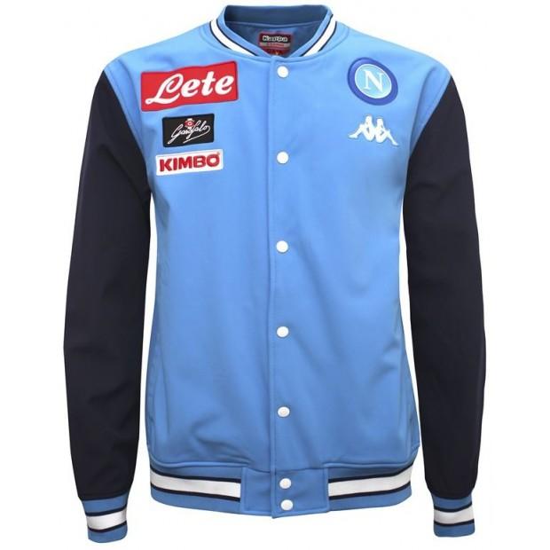 SSC Napoli Sky Blue Representation Jacket 2017/2018