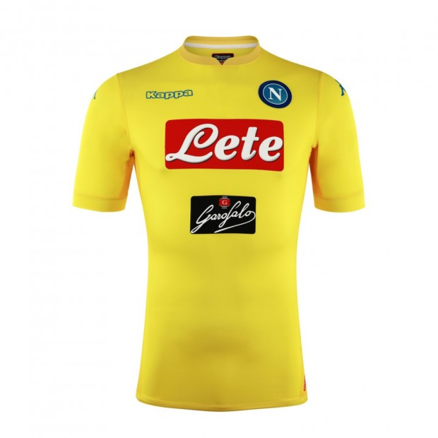 SSC Napoli Away Match Shirt 2017/2018