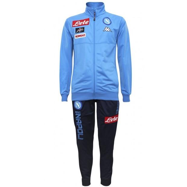 SSC Napoli Sky Blue Representation Poly Suit 2017/2018