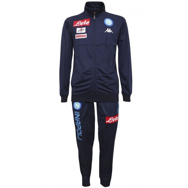 SSC Napoli Blue Marine Representation Poly Suit 2017/2018 Youth