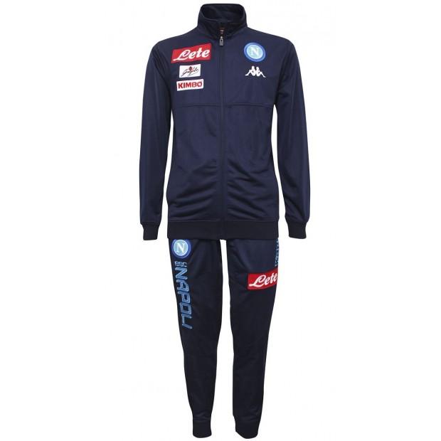 SSC Napoli Blue Marine Representation Poly Suit 2017/2018 Kid