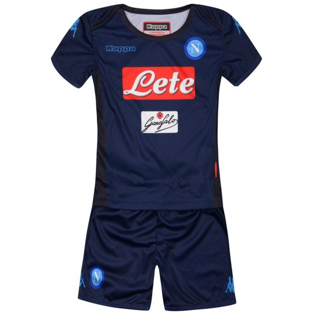 SSC Napoli Third Kit For Kids 2017/2018