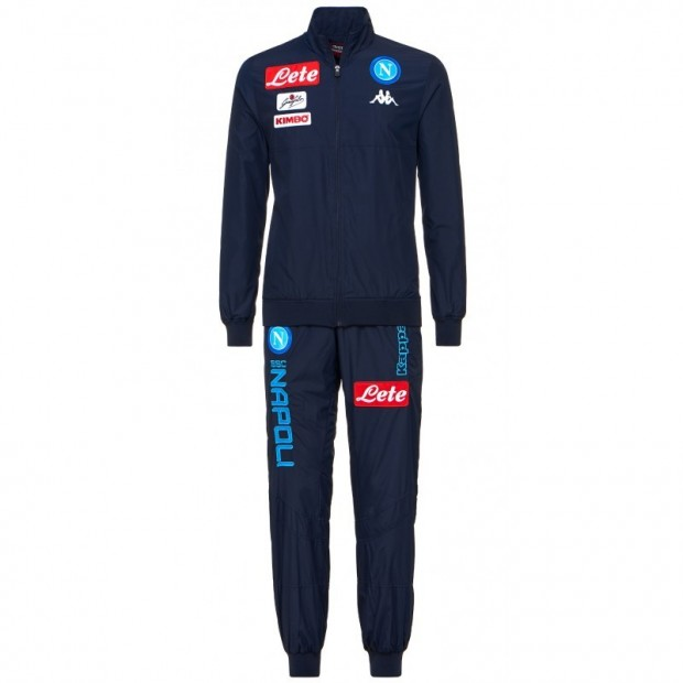 SSC Napoli Blue Micro Representation Suit 2017/2018 Kid
