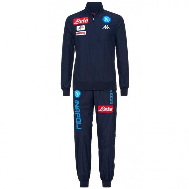 SSC Napoli Blue Micro Representation Suit 2017/2018 Kid