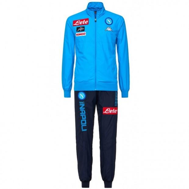 SSC Napoli Sky Blue Micro Representation Suit 2017/2018 Kid