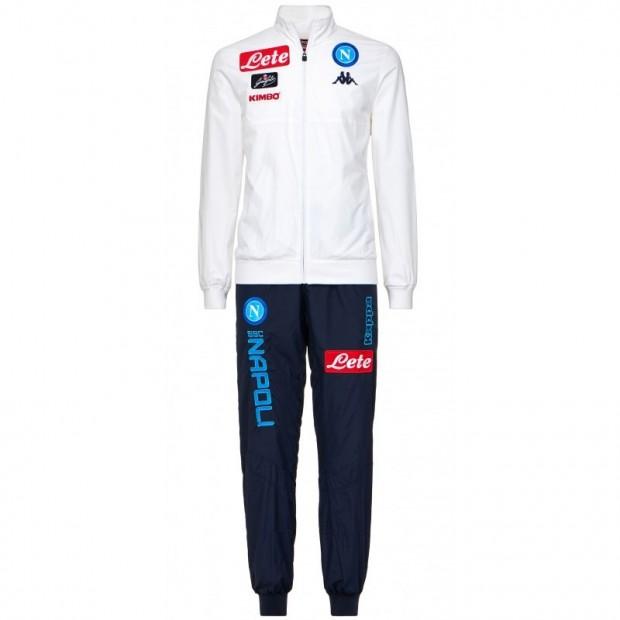 SSC Napoli White Micro Representation Suit 2017/2018 Kid