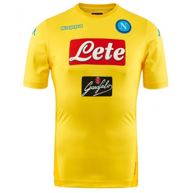 SSC Napoli Replica Yellow Shirt 2017/2018