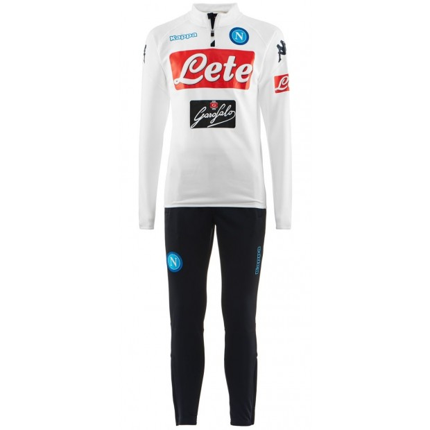 SSC Napoli White Training Tracksuit 2017/2018 Youth