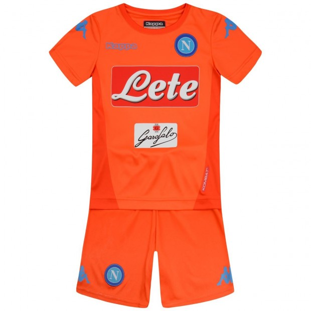 SSC Napoli GK Orange Kit For Kids 2017/2018