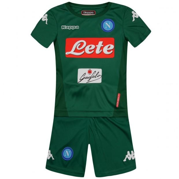 SSC Napoli Set Gara GK Verde 2017/2018