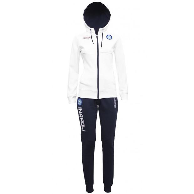 SSC Napoli White Lady Tracksuit 2017/2018