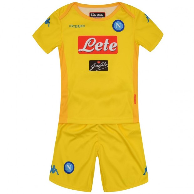 SSC Napoli Away Kit For Kids 2017/2018