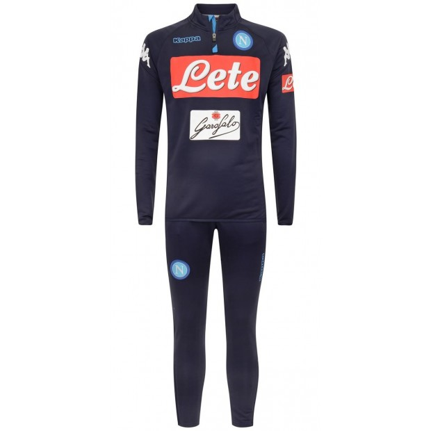 SSC Napoli Blue Marine Training Tracksuit 2017/2018 Youth