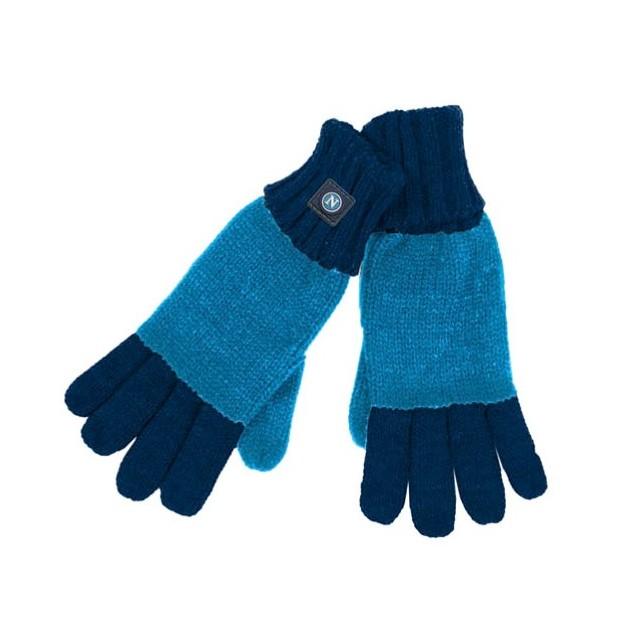 SSC Napoli Sky Blue/Navy Blue Gloves