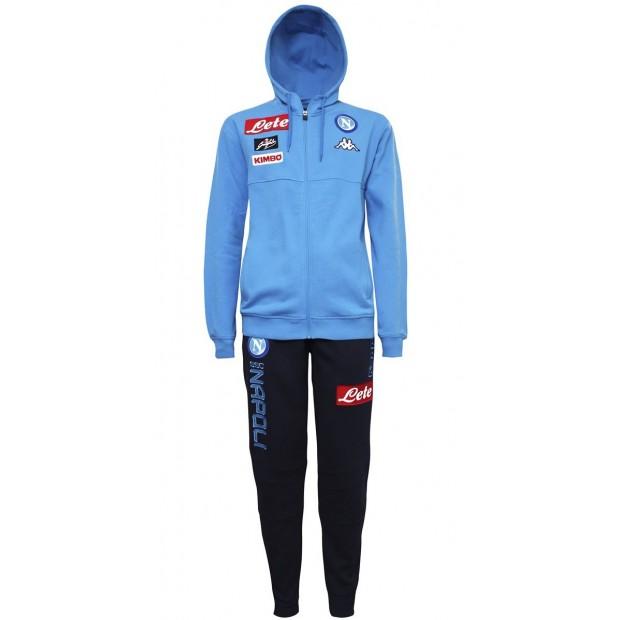 SSC Napoli Sky Blue Representation Fleece Suit 2017/2018 Youth