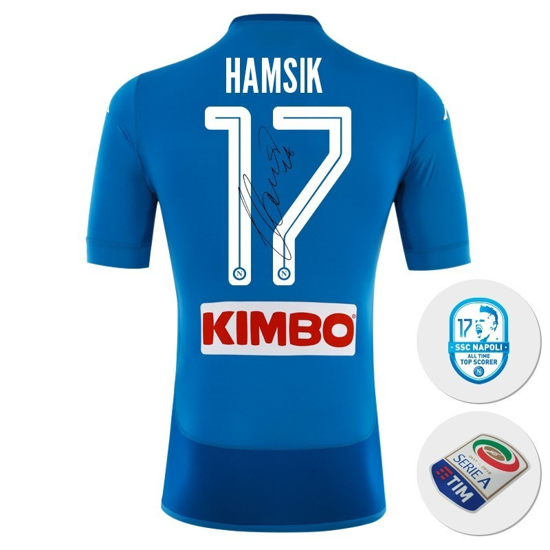SSC Napoli Maglia Gara Home Celebrativa Marek Hamsik