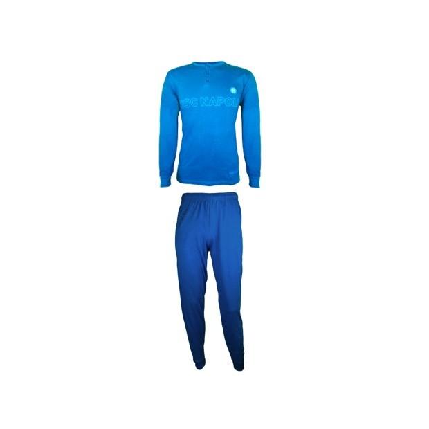 SSC Napoli Sky Blue/Dark Blue Pyjamas