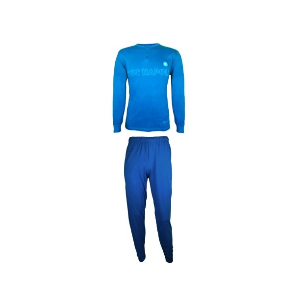 SSC Napoli Sky Blue/Dark Blue Pyjamas for Kids