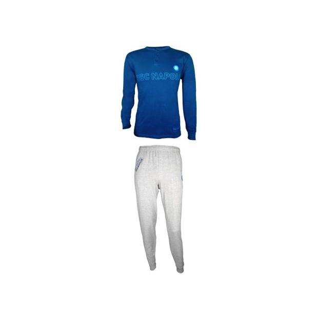 SSC Napoli Dark Blue/Grey Pyjamas
