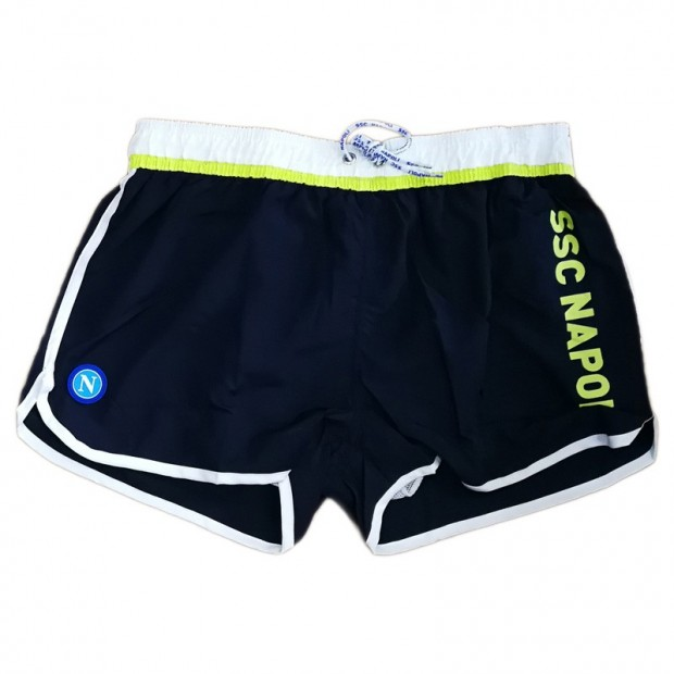 SSCN Blue Polyamide Swimming Trunks for Kids