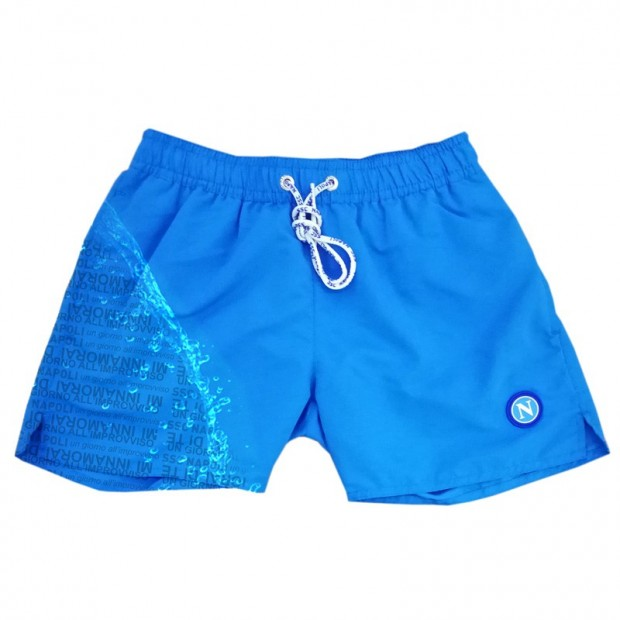 SSCN Sky Blue Magic Print Un Giorno All'Improvviso Swimming Trunks for Kids
