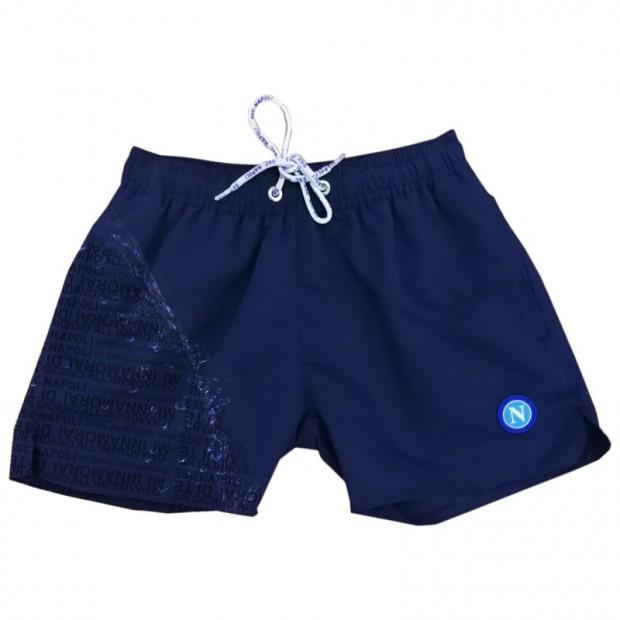 SSCN Blue Magic Print Un Giorno All'Improvviso Swimming Trunks for Kids