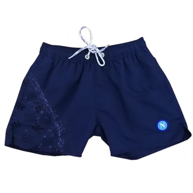 SSCN Blue Magic Print Stylized Swimming Trunks