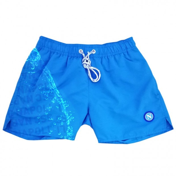 SSCN Sky Blue Magic Print Dots Swimming Trunks for Kids