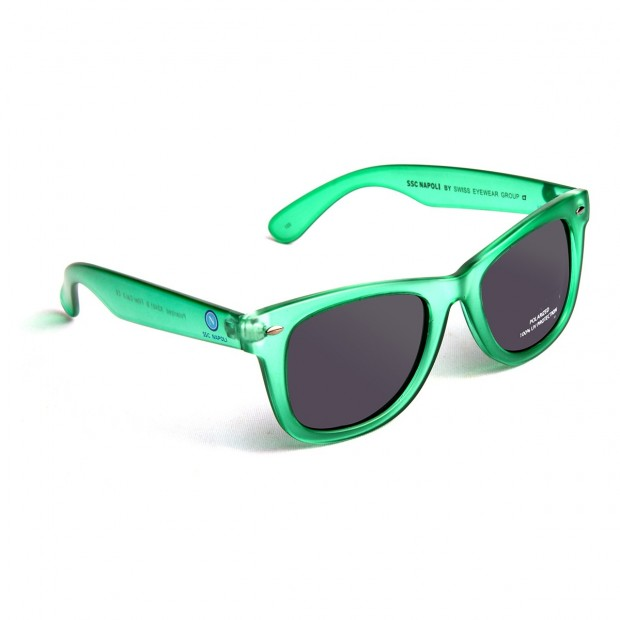 Rubberized Green Sunglasses
