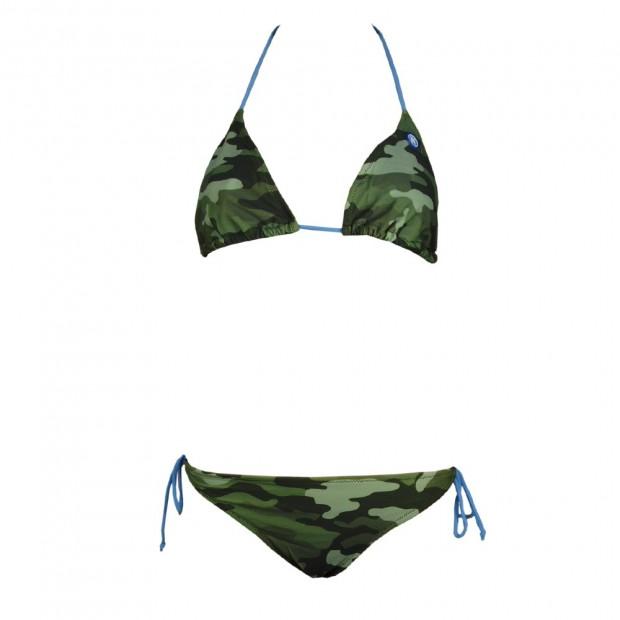 SSC Napoli Camouflage Lady Bikini