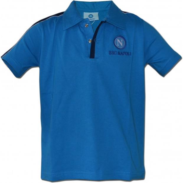 SSC Napoli Sky Blue Polo Shirt for Infants