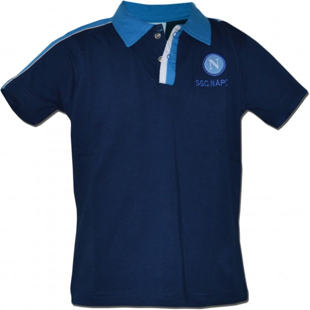 SSC Napoli Blue Polo Shirt for Infants