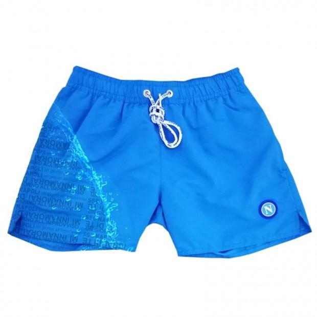 SSCN Sky Blue Magic Print Un Giorno All'Improvviso Swimming Trunks