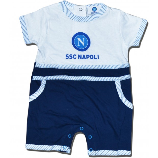 SSC Napoli White/Blue Babies Body Suit