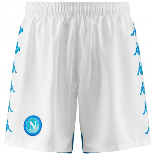 SSC Napoli White Shorts 2018/2019
