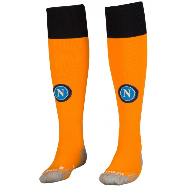 SSC Napoli Orange Socks 2018/2019