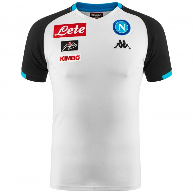 SSC Napoli T-Shirt Rappresentanza Grigia 2018/2019