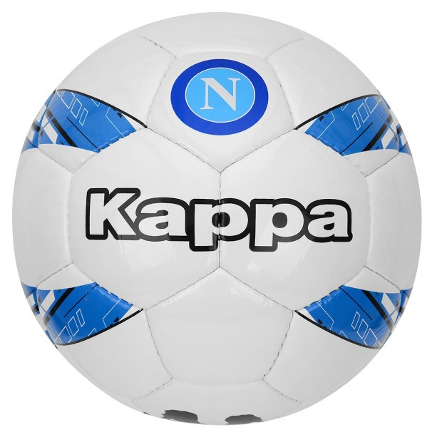 SSC Napoli Football size 5 White/Sky Blue
