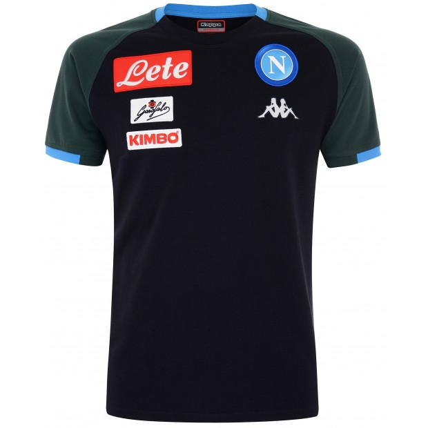 SSC Napoli Dark Blue Representation T-Shirt 2018/2019 for Kids