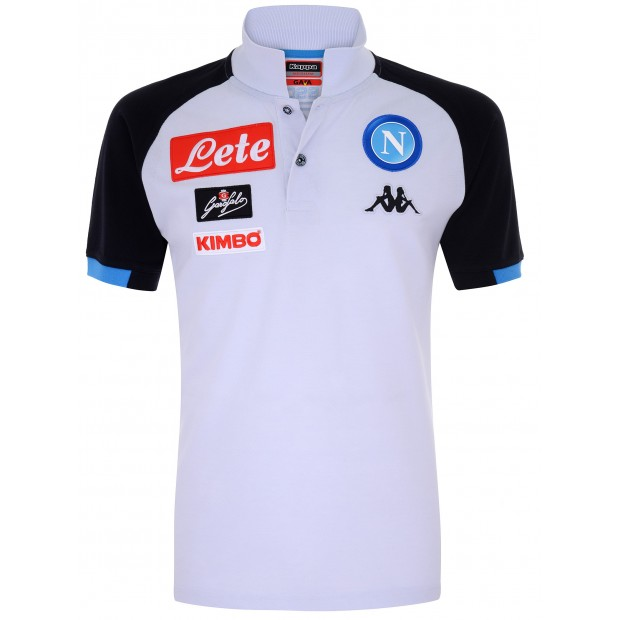SSC Napoli Grey Representation Polo Shirt 2018/2019