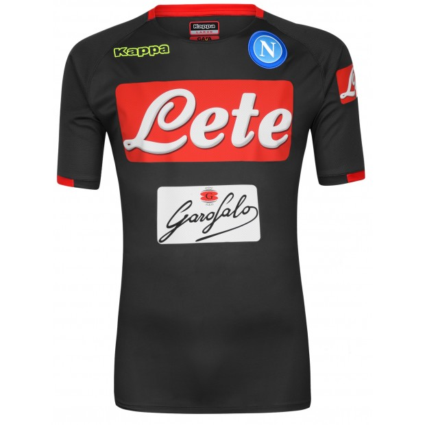 SSC Napoli Grey/Red Training Shirt 2018/2019