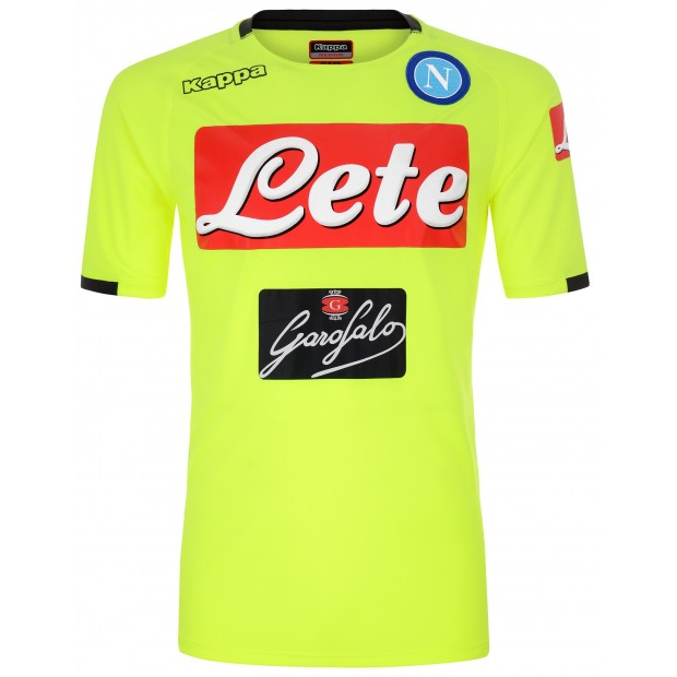 SSC Napoli Yellow Training Shirt 2018/2019