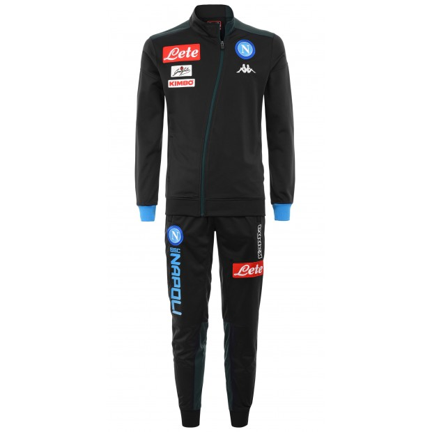 SSC Napoli Tuta Rappresentanza Triacetato Dark Blue 2018/2019 Youth