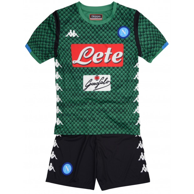 SSC Napoli GK Green Kit for Kids 2018/2019
