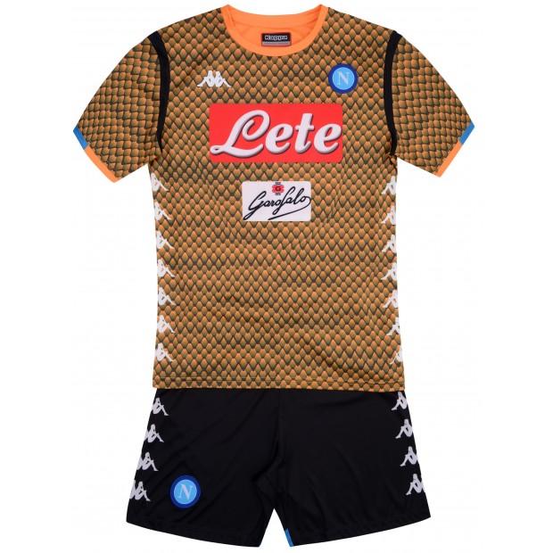 SSC Napoli Set Gara Arancione Portiere JR 2018/2019