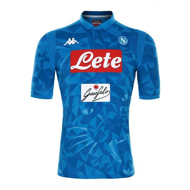 SSC Napoli Home Match Shirt 2018/2019