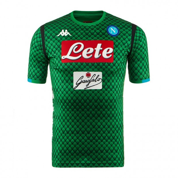 SSC Napoli Replica GK Green Shirt 2018/2019
